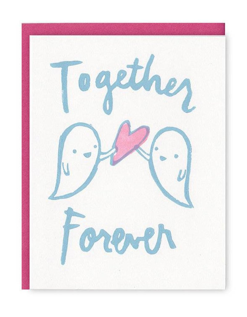 Ghost Academy Together Forever Ghosts Greeting Card