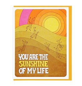 Lucky Horse Press You Are The Sunshine Of My Life Greeting Card