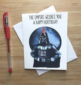 YeaOh Greetings Darth Vader Birthday Greeting Card