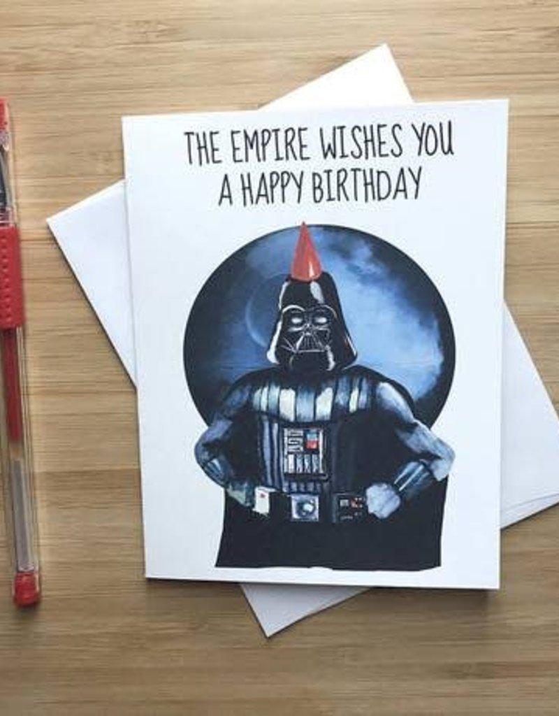 YeaOh Greetings Darth Vader Birthday (Star Wars) Greeting Card
