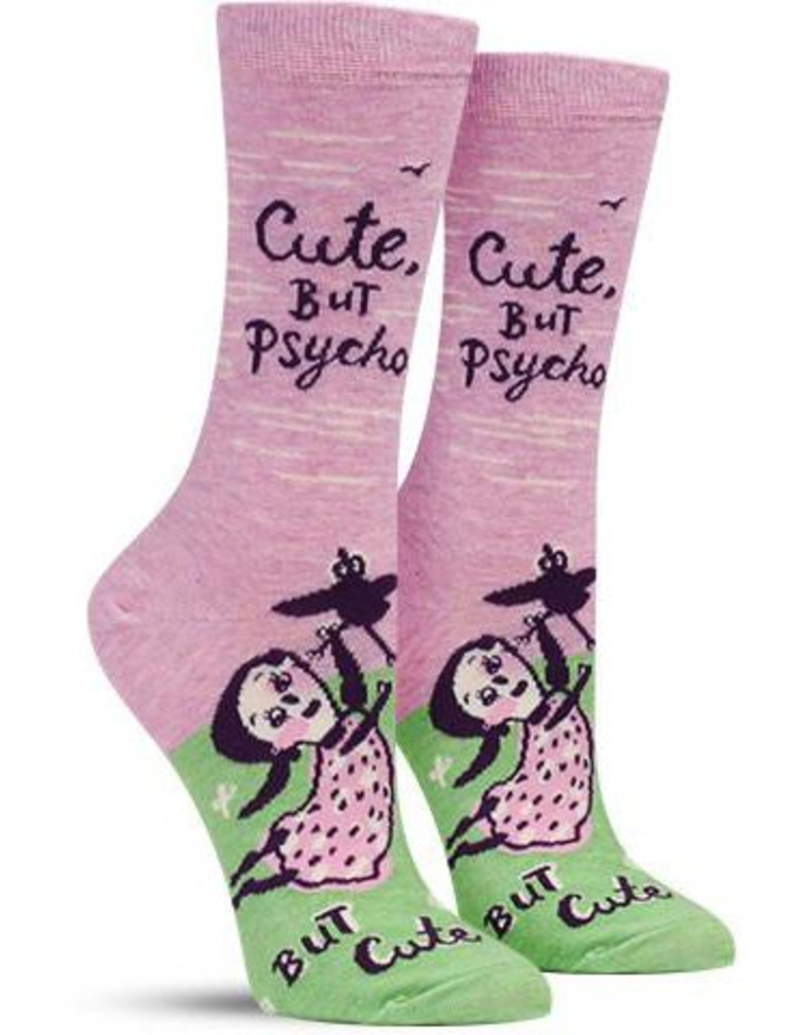 Cute, But Psycho Women's Crew Socks