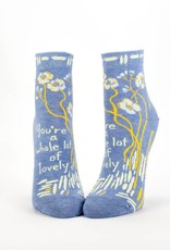 Blue Q You're A Whole Lotta Lovely Women's Ankle Socks