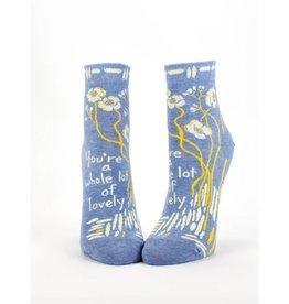 Blue Q You're A Whole Lotta Lovely Women's Ankle Socks