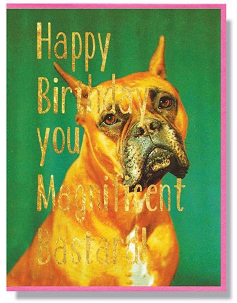 Smitten Kitten Happy Birthday Bastard Greeting Card