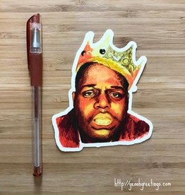 YeaOh Greetings Biggie Sticker