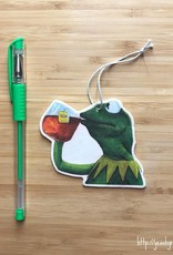 YeaOh Greetings Kermit Tea Air Freshener