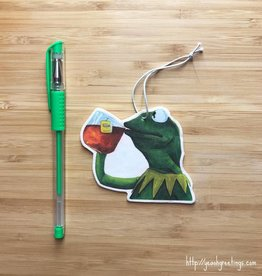 Kermit Tea Air Freshener