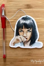 YeaOh Greetings Mia Pulp Fiction Air Freshener