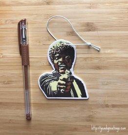 YeaOh Greetings Samuel L Jackson Pulp Fiction Air Freshener