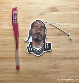 YeaOh Greetings Snoop Air Freshener