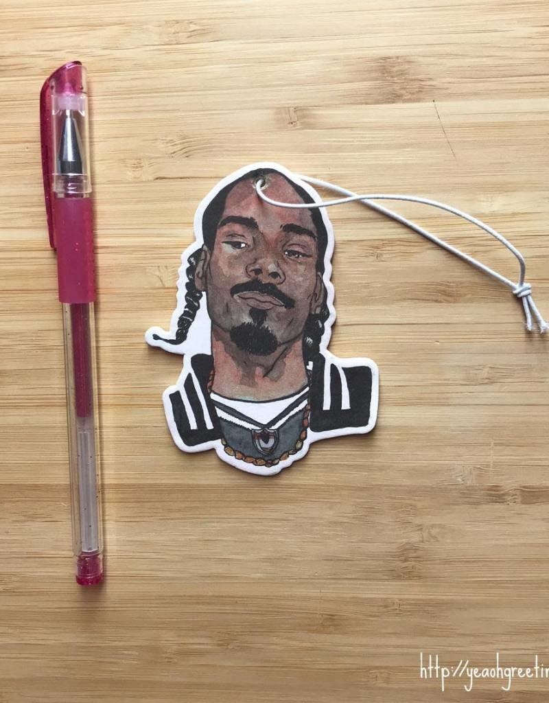 YeaOh Greetings Snoop Air Freshener