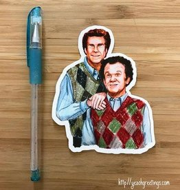YeaOh Greetings Step Brothers Sticker