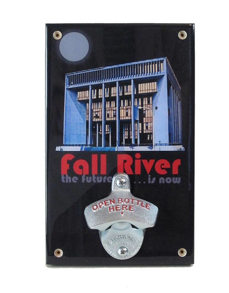 "Frog & Toad Design Fall River ""The Future is Now"" Bottle Opener"