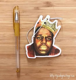 YeaOh Greetings Biggie Smalls Air Freshener