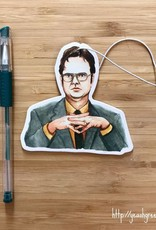 YeaOh Greetings Dwight Schrute Air Freshener