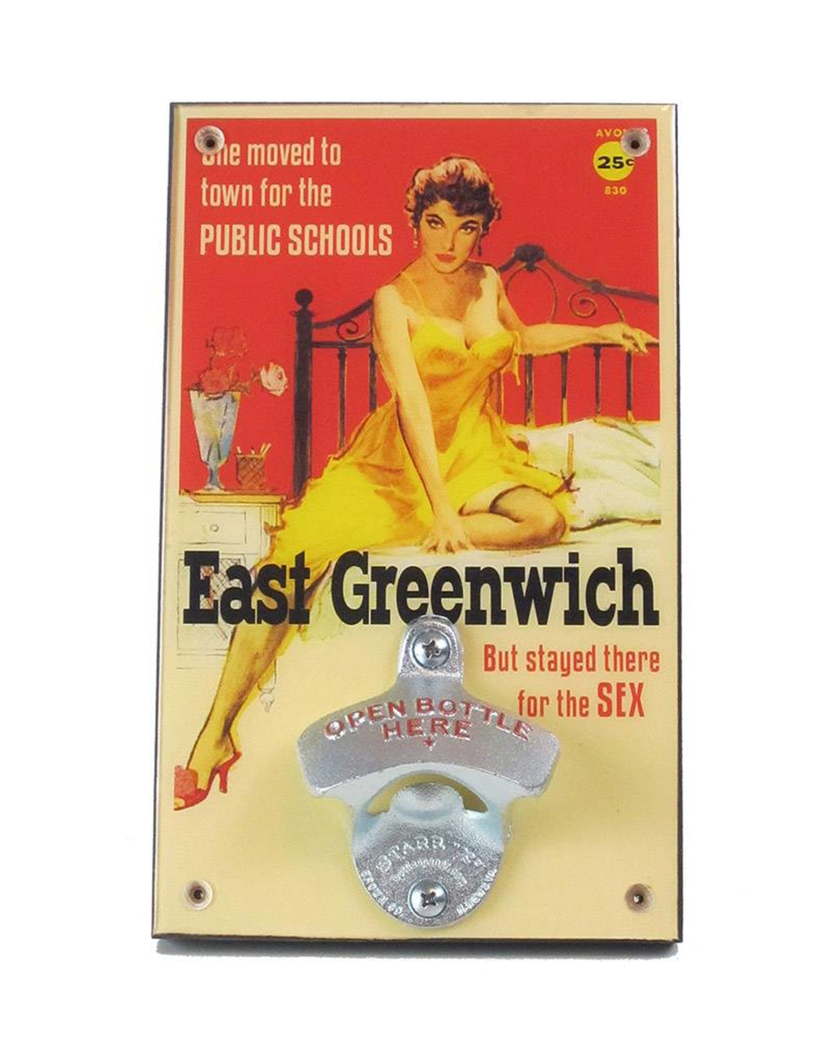 East Greenwich Pulp Fiction Bottle Opener