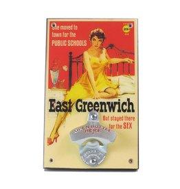 East Greenwich Pulp Fiction Bottle Opener