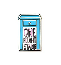Towne 9 One Night Stand Enamel Pin
