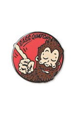 Sassquatch Enamel Pin