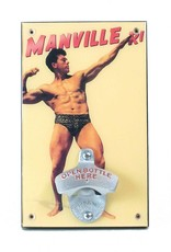 The Manville Bodybuilder Bottle Opener