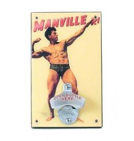 The Manville Bodybuilder Bottle Opener