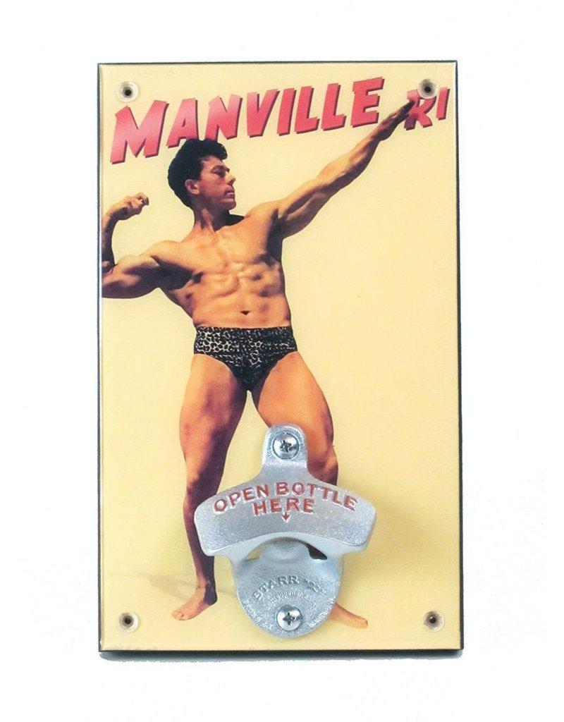 Frog & Toad Design The Manville Bodybuilder Bottle Opener