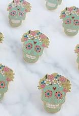 Wildflower + Co. Sugar Skull Enamel Pin