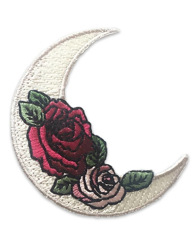 Wildflower + Co. Crescent Moon and Rose Patch