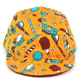 5 Panel Hat - Ghost Paste