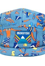 Mokuyobi Threads 5 Panel Hat - Egyptian Skateboarders