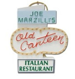 My Little Town Old Canteen Sign Ornament