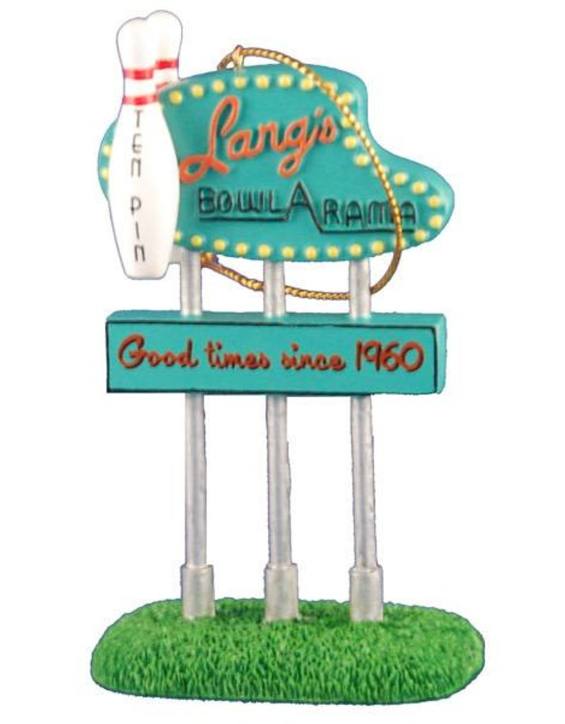 My Little Town Lang's Bowl A Rama Ornament