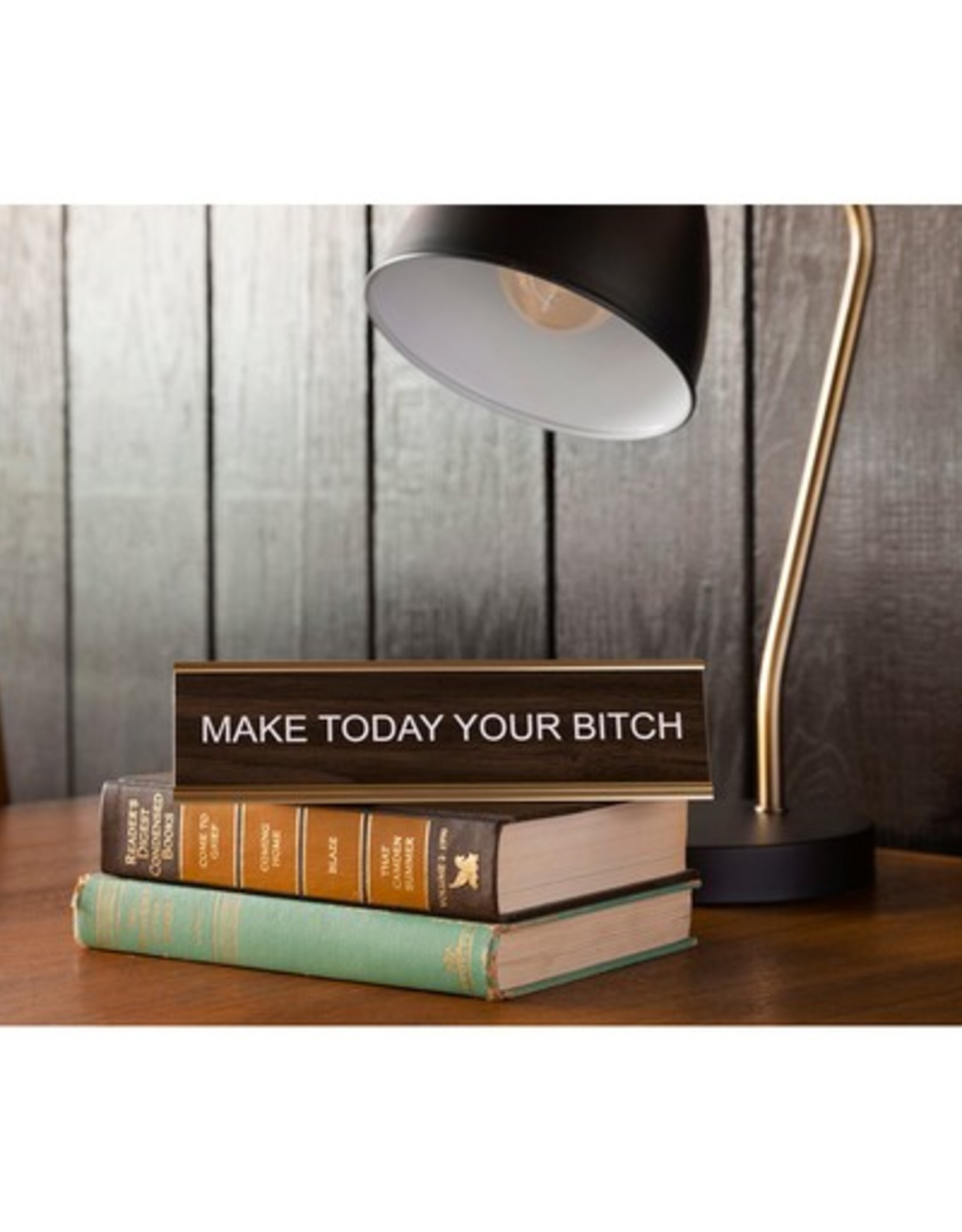 Make Today your Bitch Office Sign