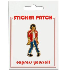 The Found Michael Jackson Sticker Patch