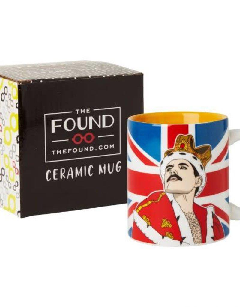 The Found Freddie Mercury Ceramic Mug