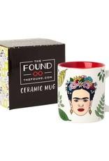 The Found Frida Artista Mexicana Ceramic Mug