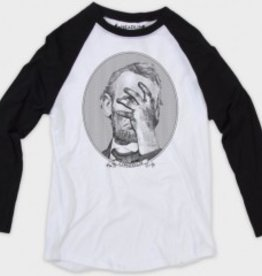 Lincoln Face Palm Raglan T-Shirt