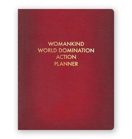 Mincing Mockingbird Womankind World Domination Action Planner Journal