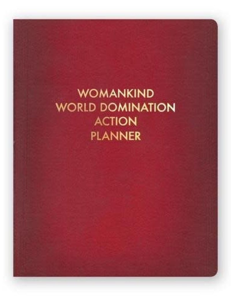 Mincing Mockingbird Womankind World Domination Action Planner Journal