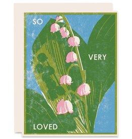 Heartell Press, LLC So Very Loved Greeting Card