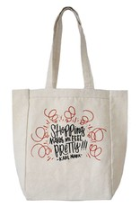 Frog & Toad Press Shopping Makes Me Feel Pretty - Karl Marx Tote