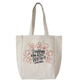 Shopping Makes Me Feel Pretty - Karl Marx Tote