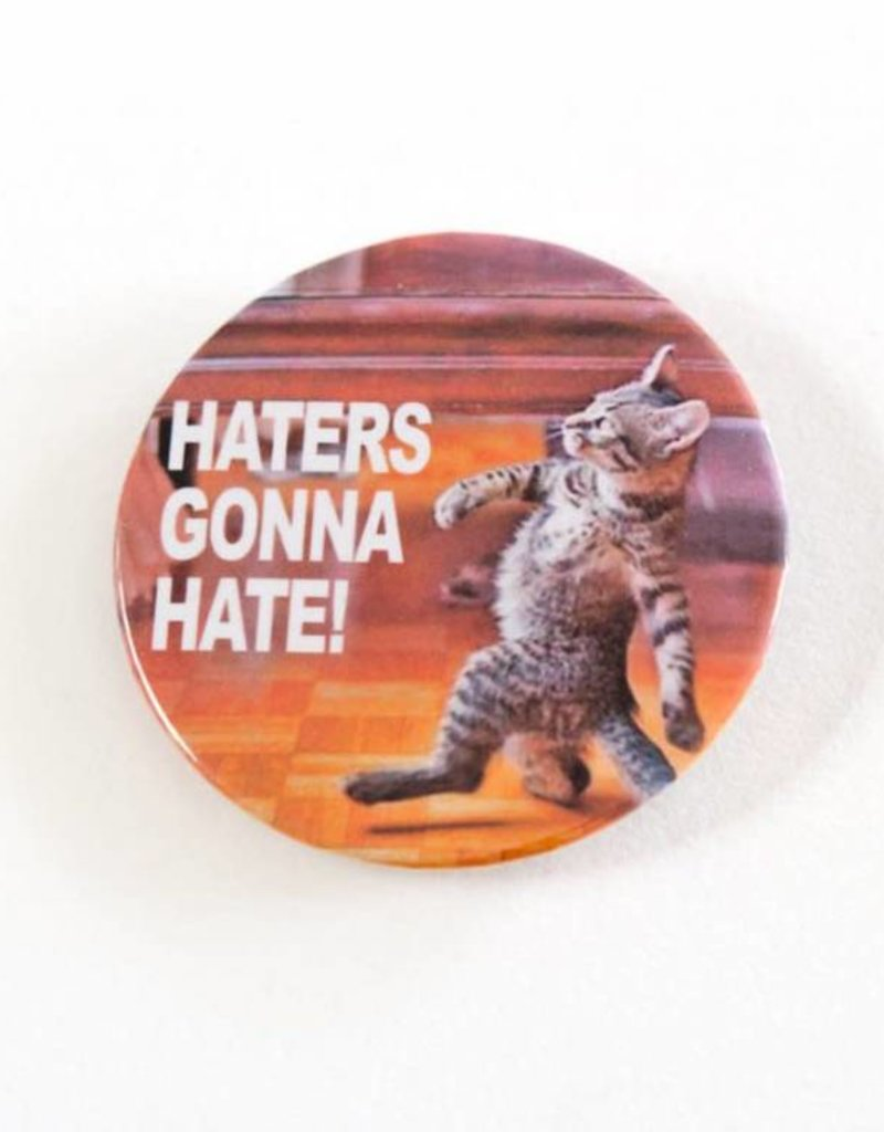 Youth Collaborative Haters Gonna Hate Cat Button