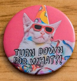 Youth Collaborative Turn Down For What?! Party Cat Magnet