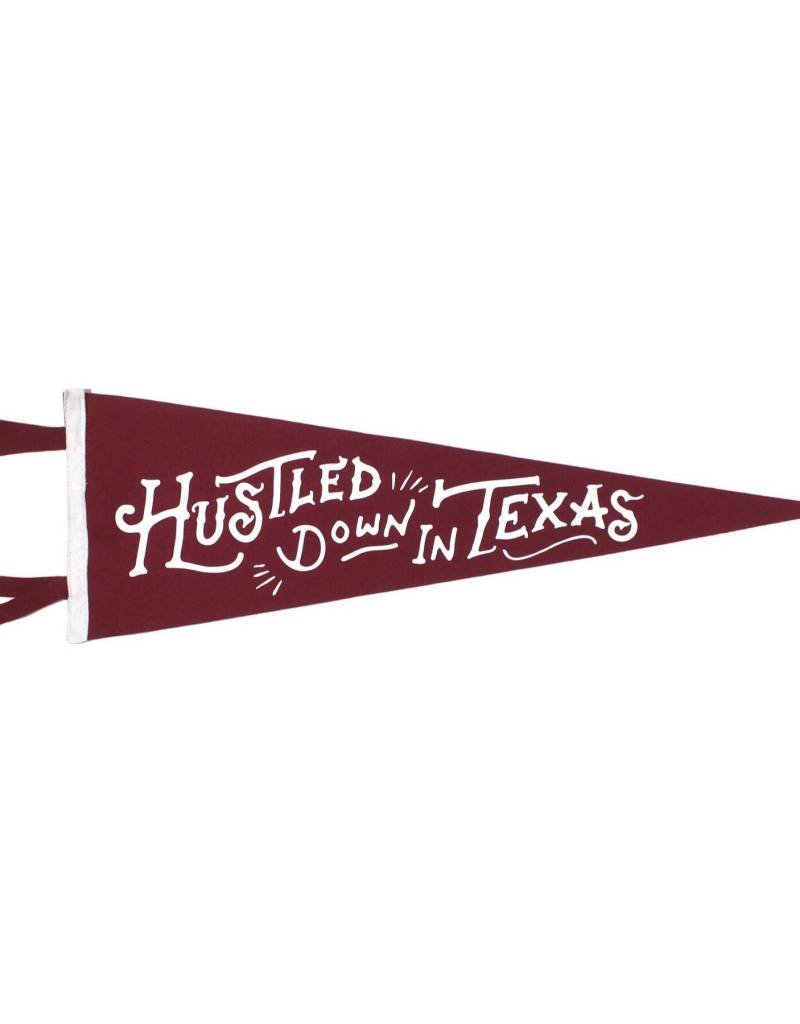 Oxford Pennant Hustled Down in Texas Pennant