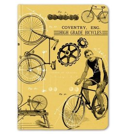 Cognitive Surplus Vintage Bicycle Hardcover Notebook