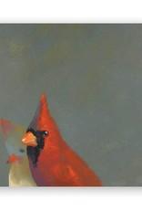 Wings on Wood - Cardinal Pair