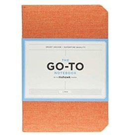 Mohawk Paper The Go-To Notebook (Lined) - Persimmon Orange