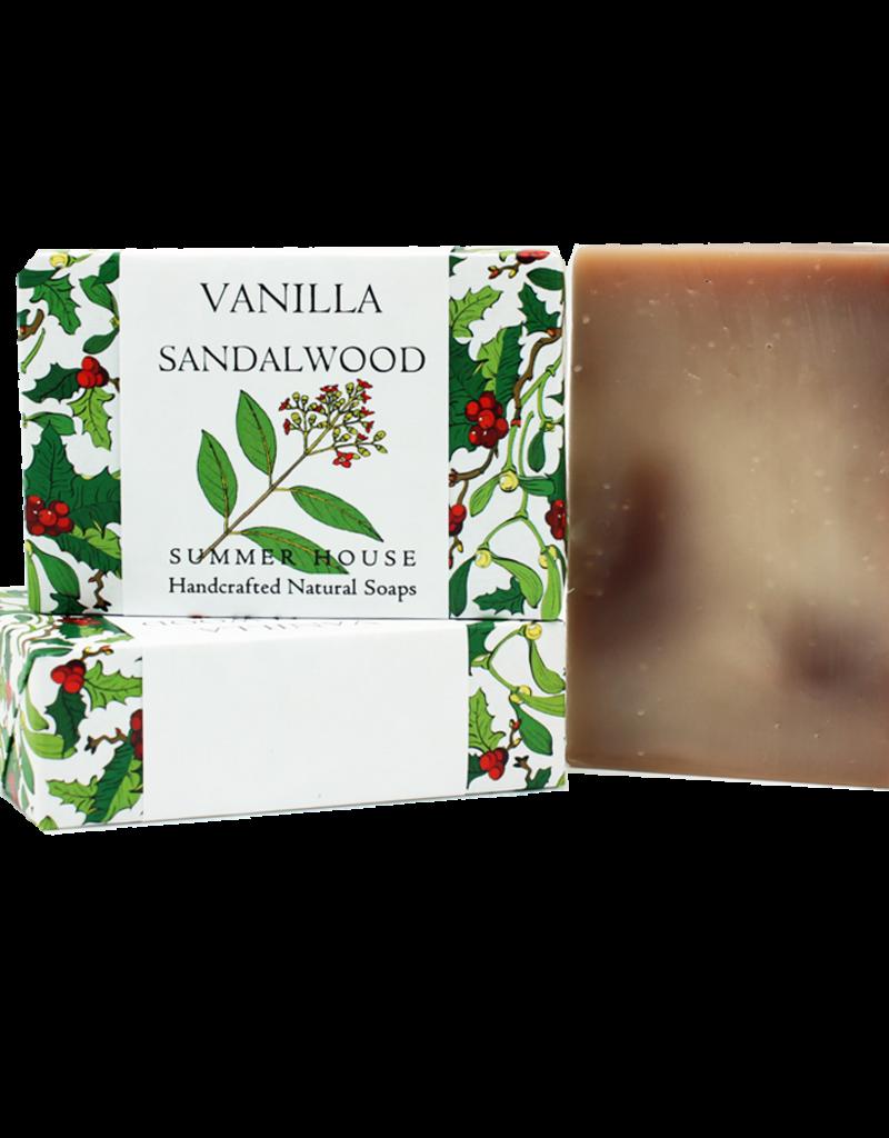 Summer House Natural Soaps Soap Bar - Vanilla Sandalwood