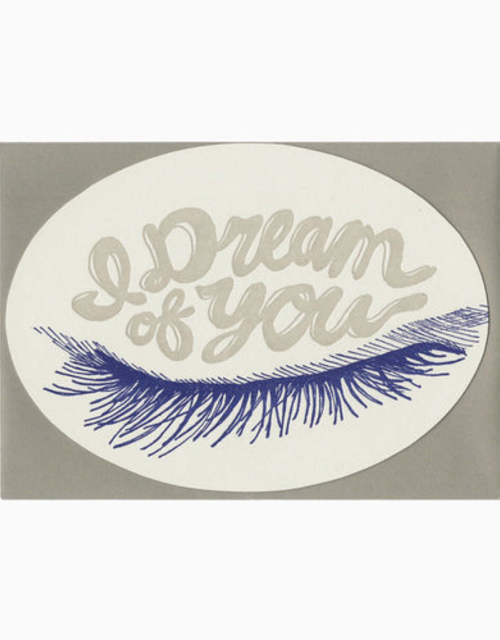 I Dream Of You Greeting Card